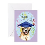 Wheaten Graduate Greeting Card
