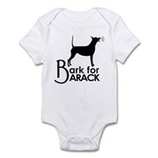 Bark for Barack Infant Bodysuit