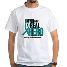 Never Knew A Hero 2 Teal (Mother) Shirt
