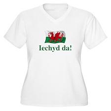 Wales Iechyd da T-Shirt