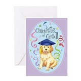 Golden Graduate Greeting Card