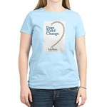 Dogs Need Change, Not Chains Women's Light T-Shirt