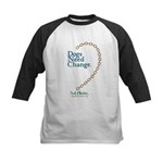 Dogs Need Change, Not Chains Kids Baseball Jersey
