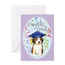 Beagle Graduate Greeting Card