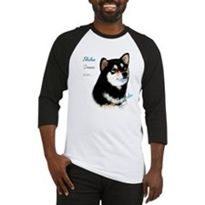 Black Shiba Best Friend 1 Baseball Jersey