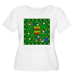 Collie Women's Plus Size Scoop Neck T-Shirt