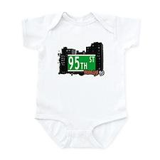 95th STREET, BROOKLYN, NYC Infant Bodysuit