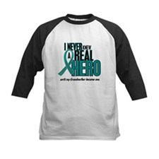 Never Knew A Hero 2 Teal (Grandmother) Tee