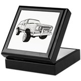 Cute Rc cars Keepsake Box