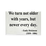Emily Dickinson 15 Rectangle Magnet