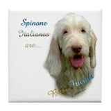 Spinone Best Friend 1 Tile Coaster