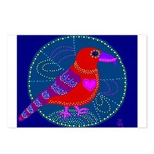 Red Crossbill Postcards (Package of 8)