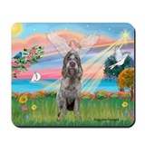 Angel Star /Spinone (12) (r) Mousepad