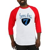 Super Girl #7 Baseball Jersey