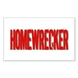 Homewrecker Rectangle Decal