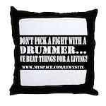 Lewy Stix Throw Pillow