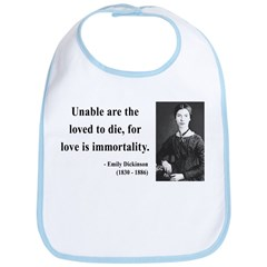 Emily Dickinson 11 Bib
