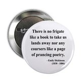 "Emily Dickinson 10 2.25"" Button (100 pack)"