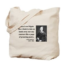 Emily Dickinson 10 Tote Bag