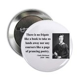 "Emily Dickinson 10 2.25"" Button"