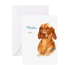Vizsla Best Friend 1 Greeting Card