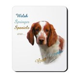Welsh Springer Best Friend 1 Mousepad