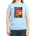 Mandolin Angel / Bull Terrier Women's Light T-Shir