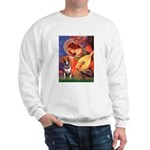 Mandolin Angel / Bull Terrier Sweatshirt