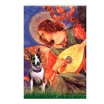 Mandolin Angel / Bull Terrier Postcards (Package o