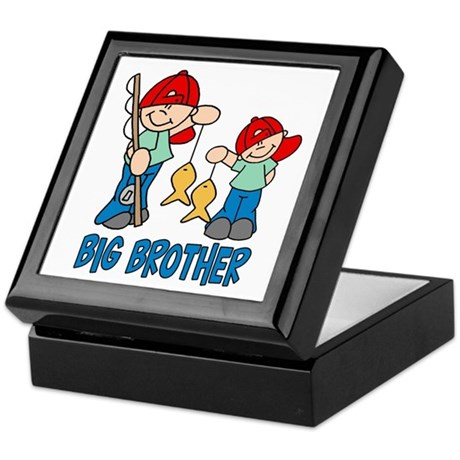 Fishing Buddys Big Brother Keepsake Box