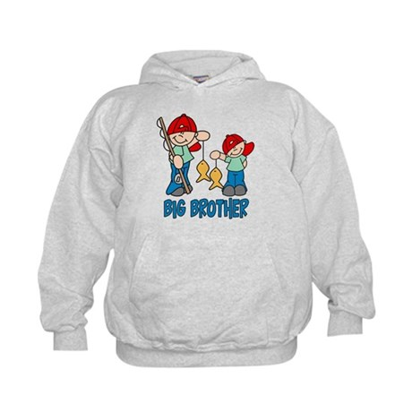 Fishing Buddys Big Brother Kids Hoodie