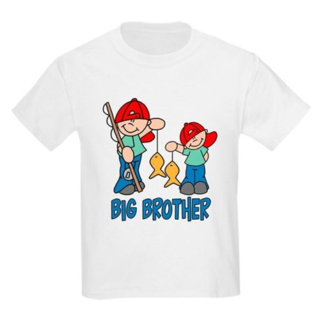 Fishing Buddys Big Brother Kids Light T-Shirt