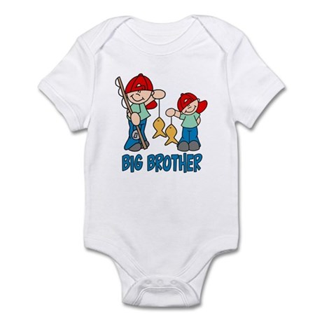 Fishing Buddys Big Brother Infant Bodysuit