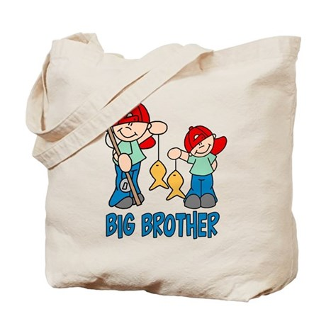 Fishing Buddys Big Brother Tote Bag