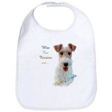 Wire Fox Best Friend 1 Bib
