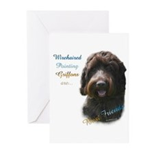 Wirehaired Best Friend 1 Greeting Cards (Pk of 10)
