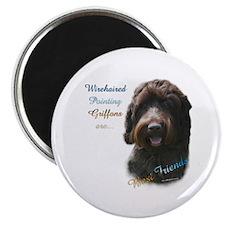 Wirehaired Best Friend 1 Magnet