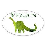 VEGAN Oval Sticker