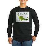 VEGAN Long Sleeve Dark T-Shirt