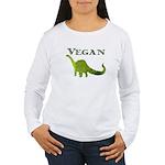 VEGAN Women's Long Sleeve T-Shirt