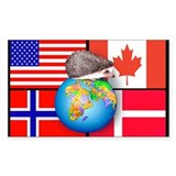 Global Hedgie Decal