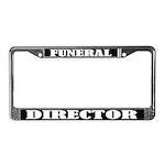 Funeral Director License Plate Frame