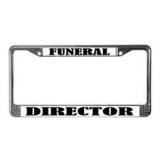 Funeral Director License Plate Frame