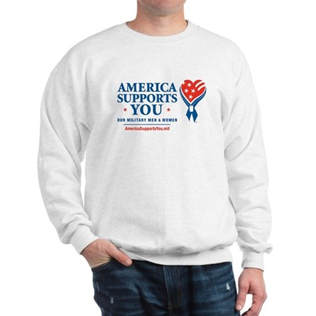 America Supports You! Sweatshirt