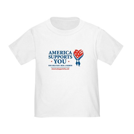 America Supports You! Toddler T-Shirt