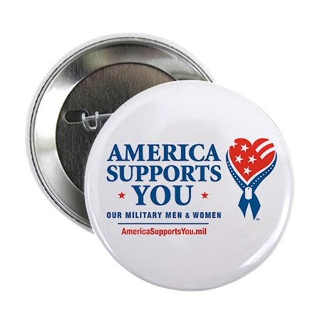 America Supports You! 2.25&quot; Button (10 pack)