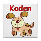 Kaden Puppy Tile Coaster