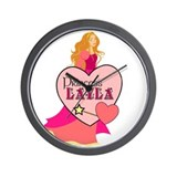 Princess Layla Wall Clock