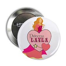 """Princess Layla 2.25"""" Button"""