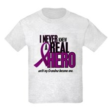 Never Knew A Hero 2 Purple (Grandma) T-Shirt